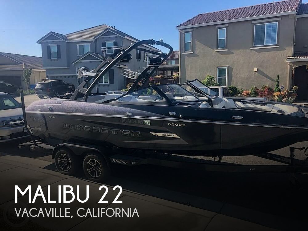 Used Power boats For Sale in Modesto, California by owner | 2015 Malibu 22