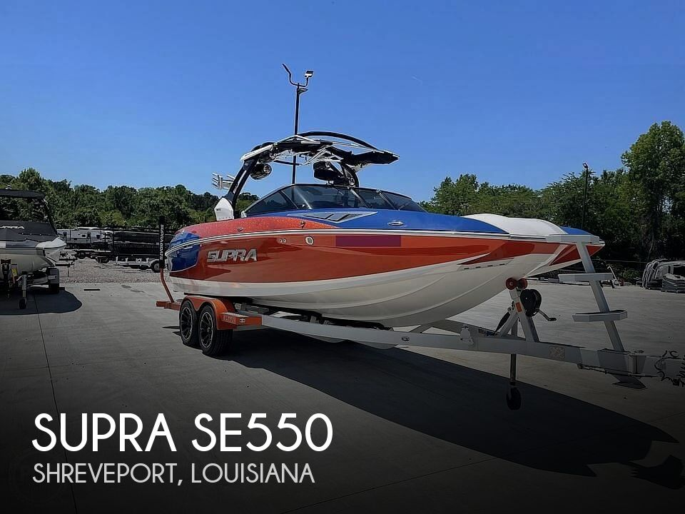 Used Power boats For Sale in Longview, Texas by owner | 2016 Supra SE550