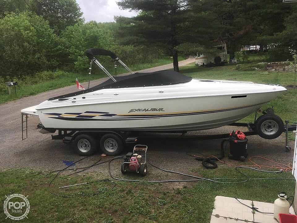 2000 Wellcraft boat for sale, model of the boat is Excalibur 23 Sport & Image # 40 of 40