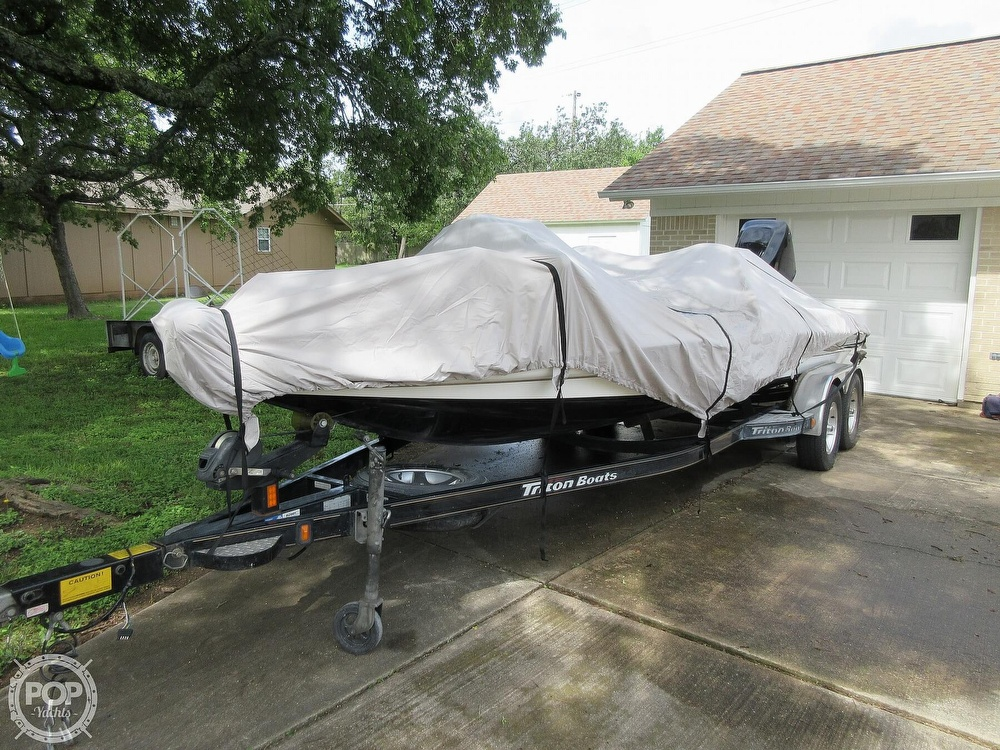 2003 Triton boat for sale, model of the boat is Tr-21 & Image # 24 of 40