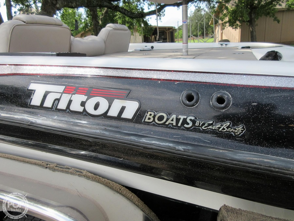 2003 Triton boat for sale, model of the boat is Tr-21 & Image # 20 of 40
