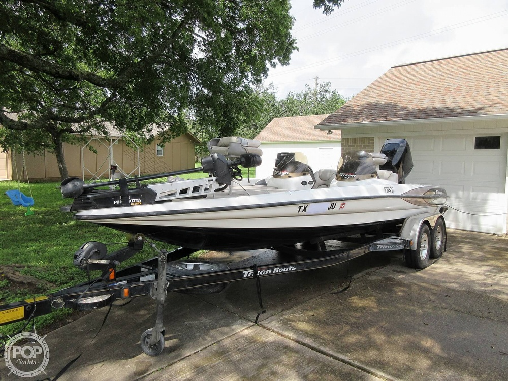 2003 Triton boat for sale, model of the boat is Tr-21 & Image # 33 of 40
