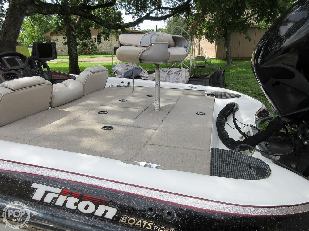 2003 Triton boat for sale, model of the boat is Tr-21 & Image # 40 of 40