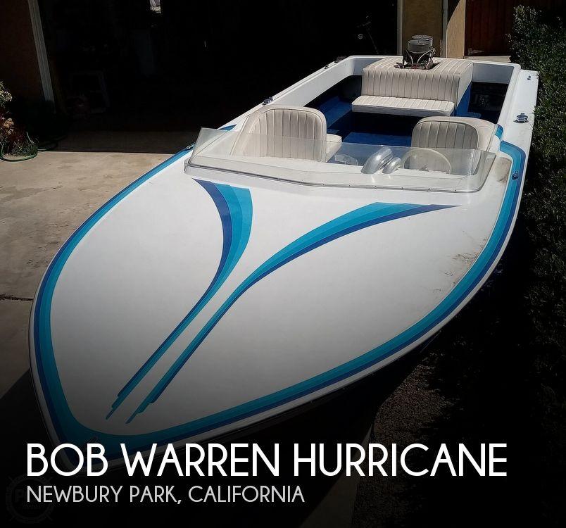 1976 Bob Warren Hurricane boat for sale, model of the boat is 24 & Image # 1 of 40