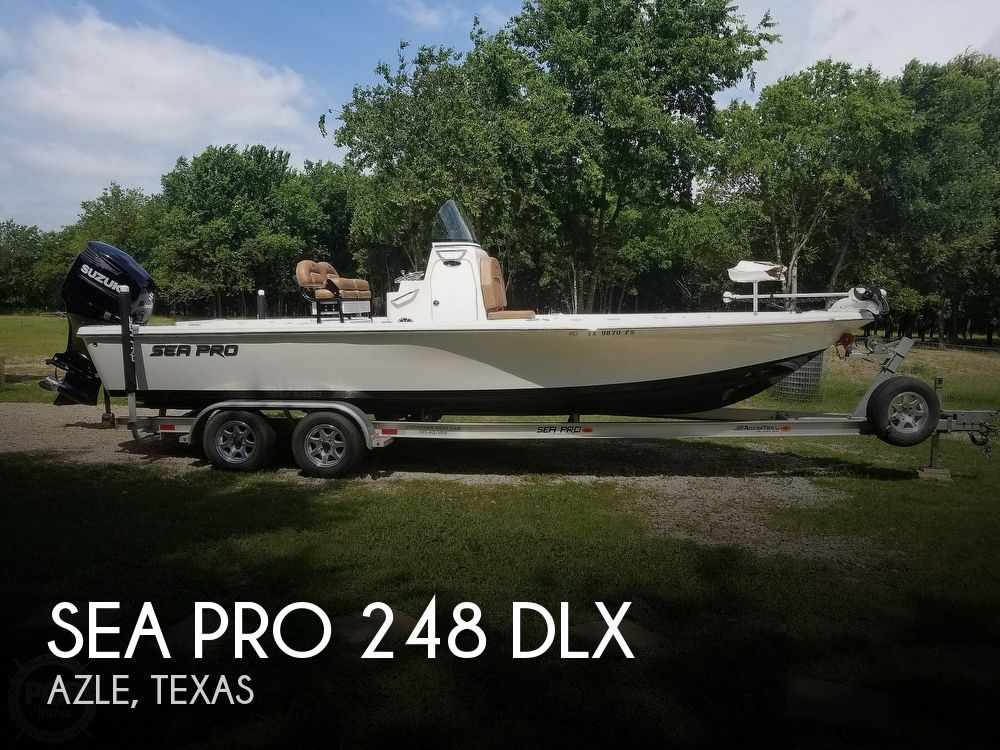2020 Sea Pro boat for sale, model of the boat is 248 DLX & Image # 1 of 40