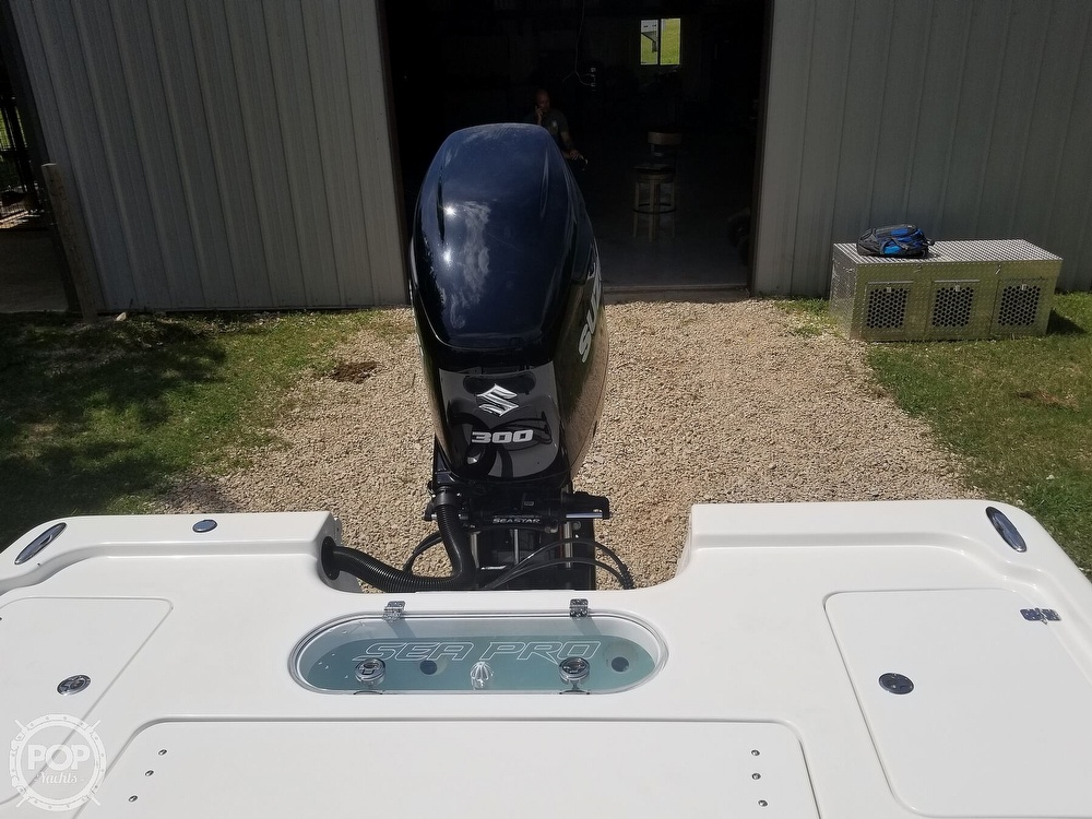 2020 Sea Pro boat for sale, model of the boat is 248 DLX & Image # 29 of 40