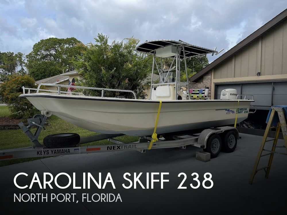 2002 CAROLINA SKIFF 238 DLV for sale