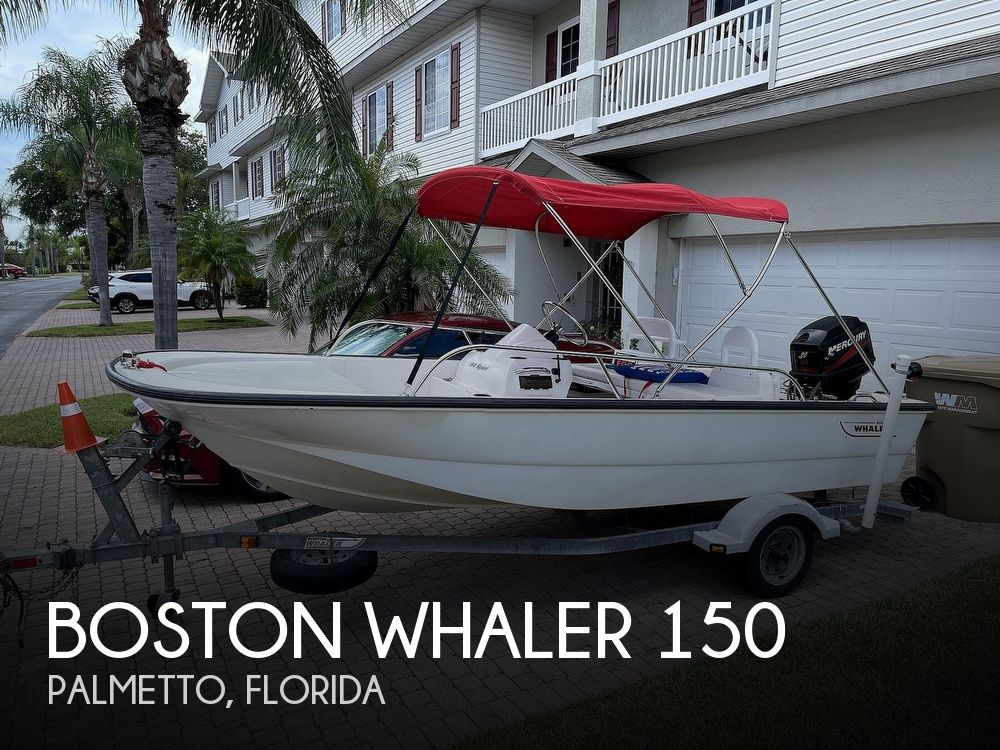 2004 Boston Whaler boat for sale, model of the boat is 150 Sport & Image # 1 of 40