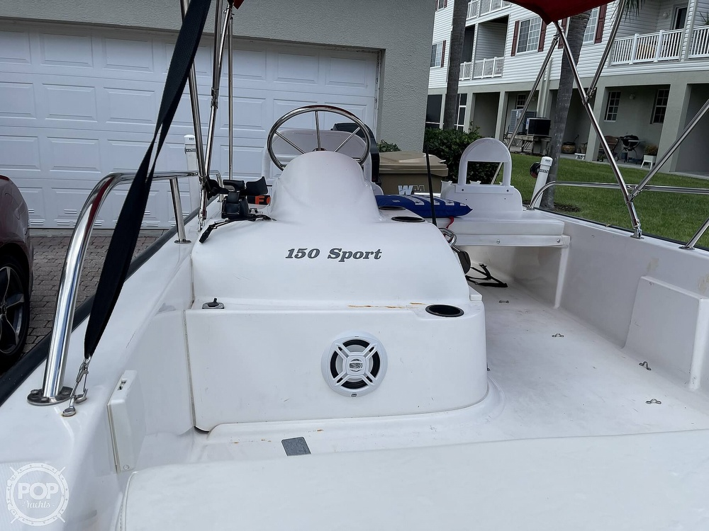 2004 Boston Whaler boat for sale, model of the boat is 150 Sport & Image # 21 of 40