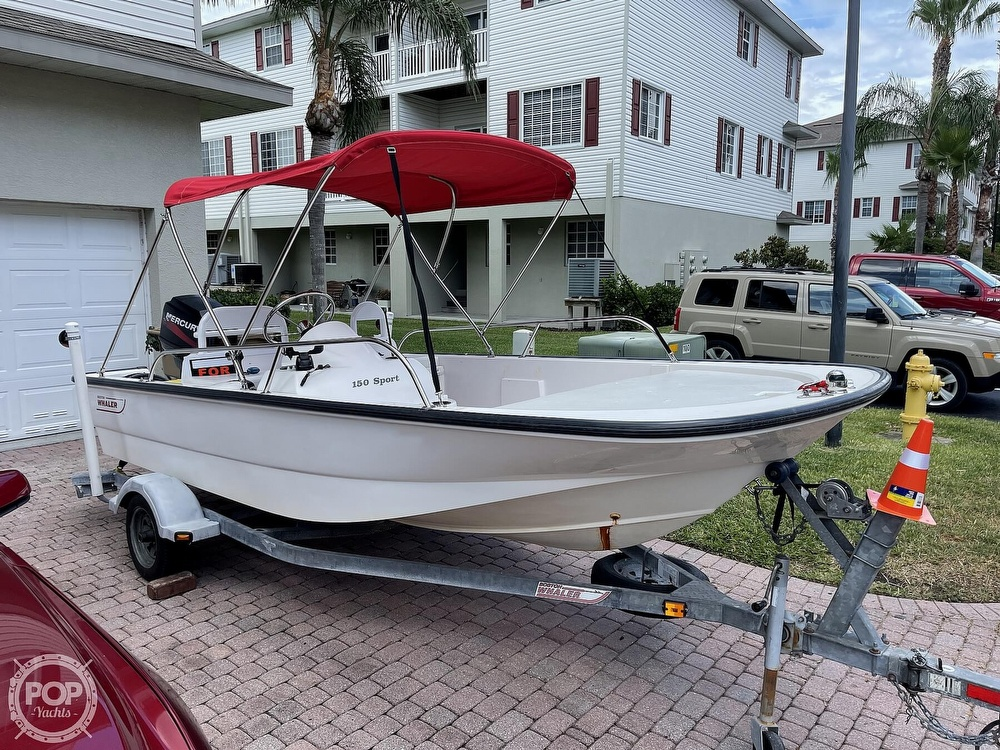 2004 Boston Whaler boat for sale, model of the boat is 150 Sport & Image # 2 of 40