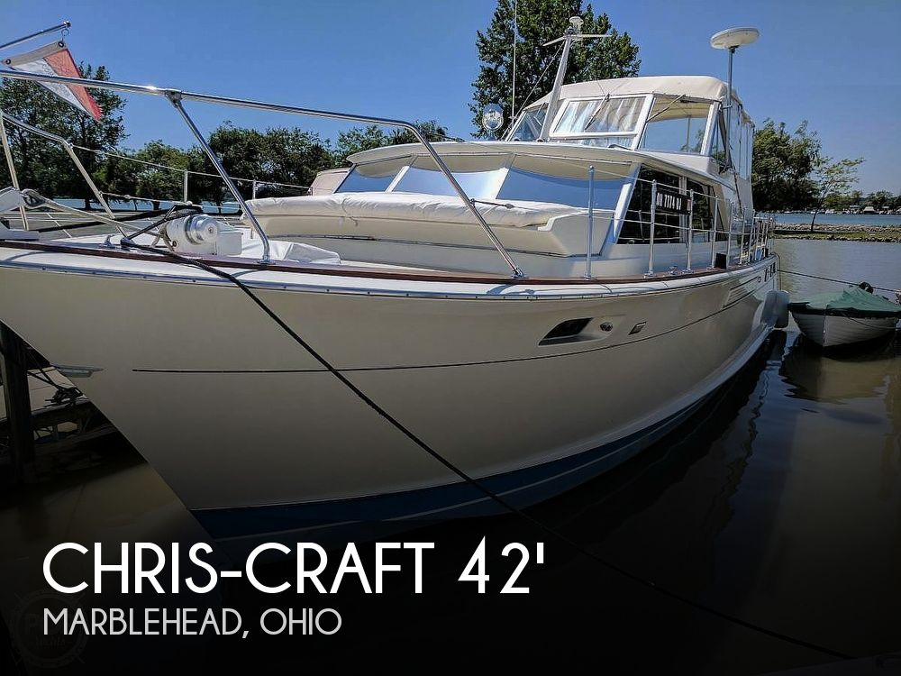 Used Chris-Craft Motoryachts For Sale by owner | 1971 42 foot Chris-Craft Commander