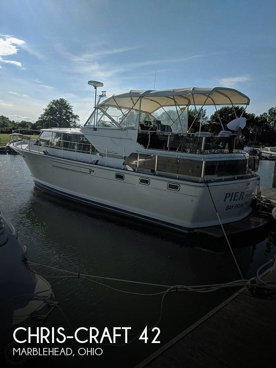 1971 Chris Craft boat for sale, model of the boat is Commander 42 & Image # 1 of 40
