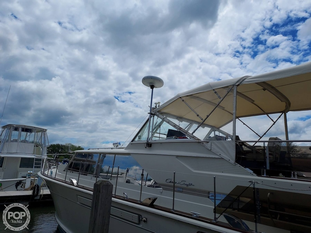 1971 Chris Craft boat for sale, model of the boat is Commander 42 & Image # 14 of 40