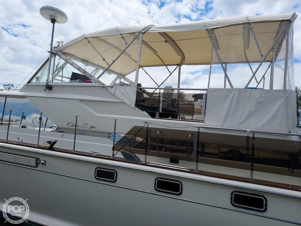 1971 Chris Craft boat for sale, model of the boat is Commander 42 & Image # 17 of 40