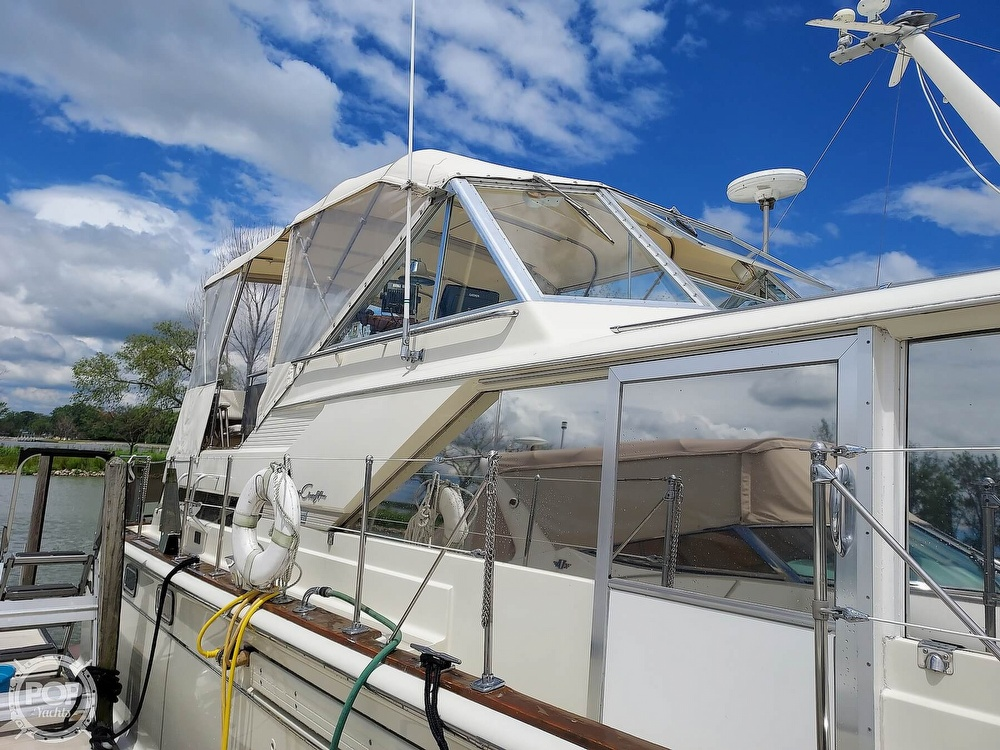 1971 Chris Craft boat for sale, model of the boat is Commander 42 & Image # 21 of 40