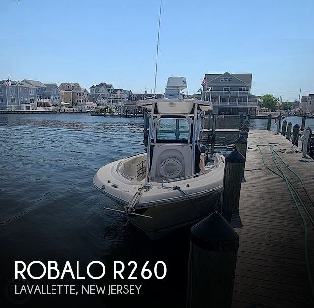 2006 Robalo boat for sale, model of the boat is R260 & Image # 1 of 36