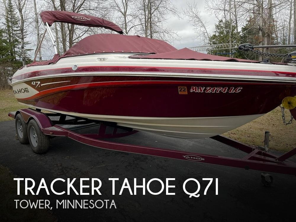 Used Power boats For Sale in Duluth, Minnesota by owner | 2013 Tracker Tahoe Q7i