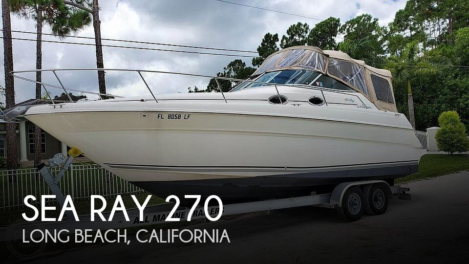 Used Sea Ray Boats For Sale in California by owner | 2000 30 foot Sea Ray Sundancer