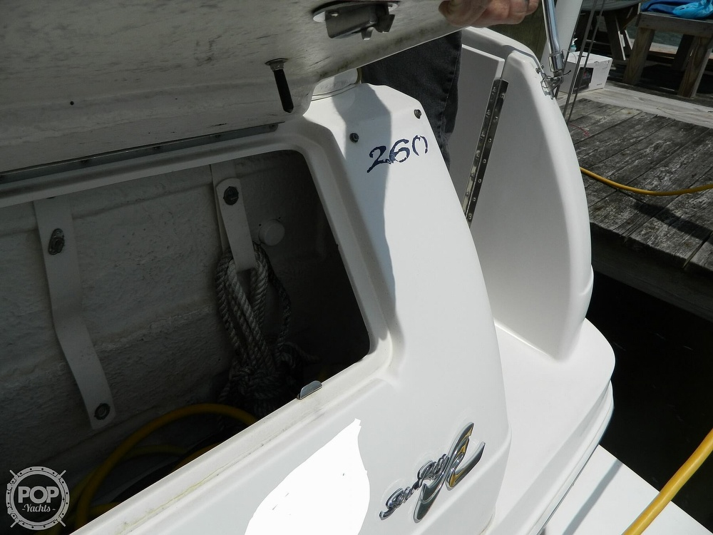 2001 Sea Ray boat for sale, model of the boat is 260 Sundancer & Image # 8 of 40