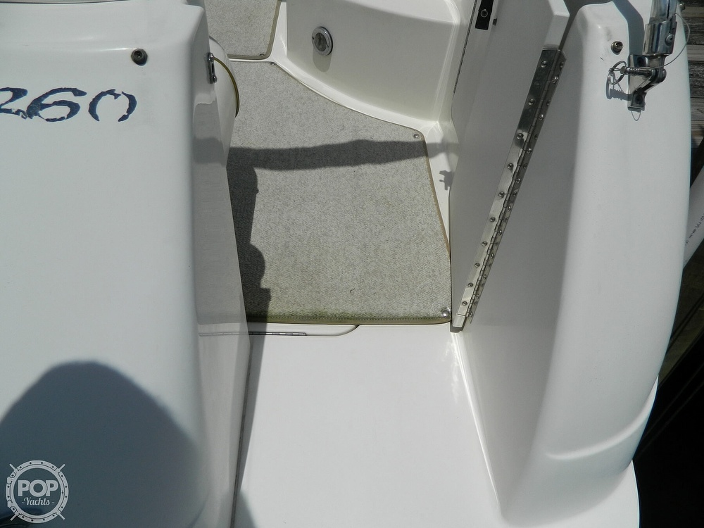 2001 Sea Ray boat for sale, model of the boat is 260 Sundancer & Image # 17 of 40