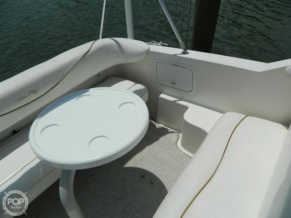 2001 Sea Ray boat for sale, model of the boat is 260 Sundancer & Image # 18 of 40