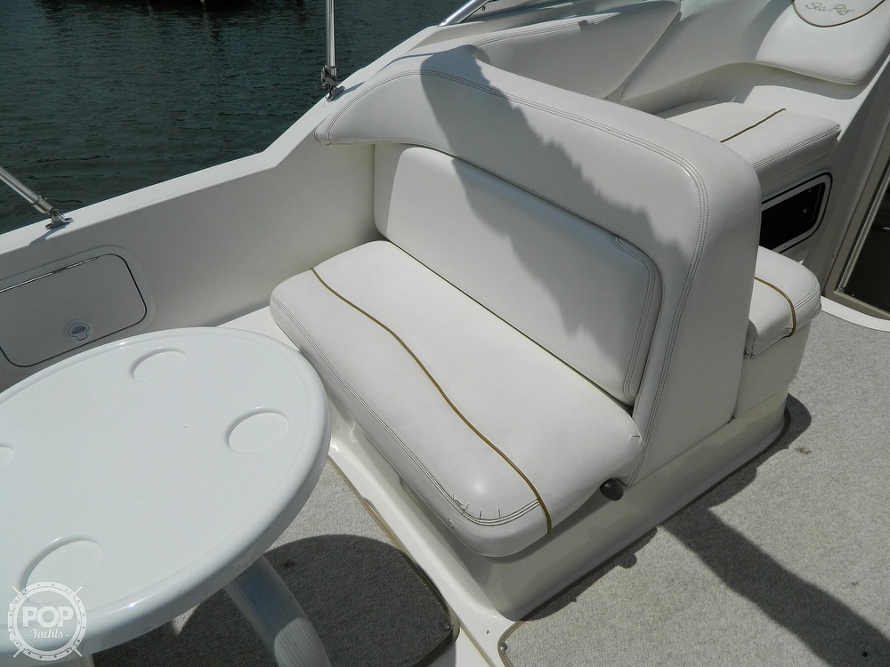 2001 Sea Ray boat for sale, model of the boat is 260 Sundancer & Image # 19 of 40