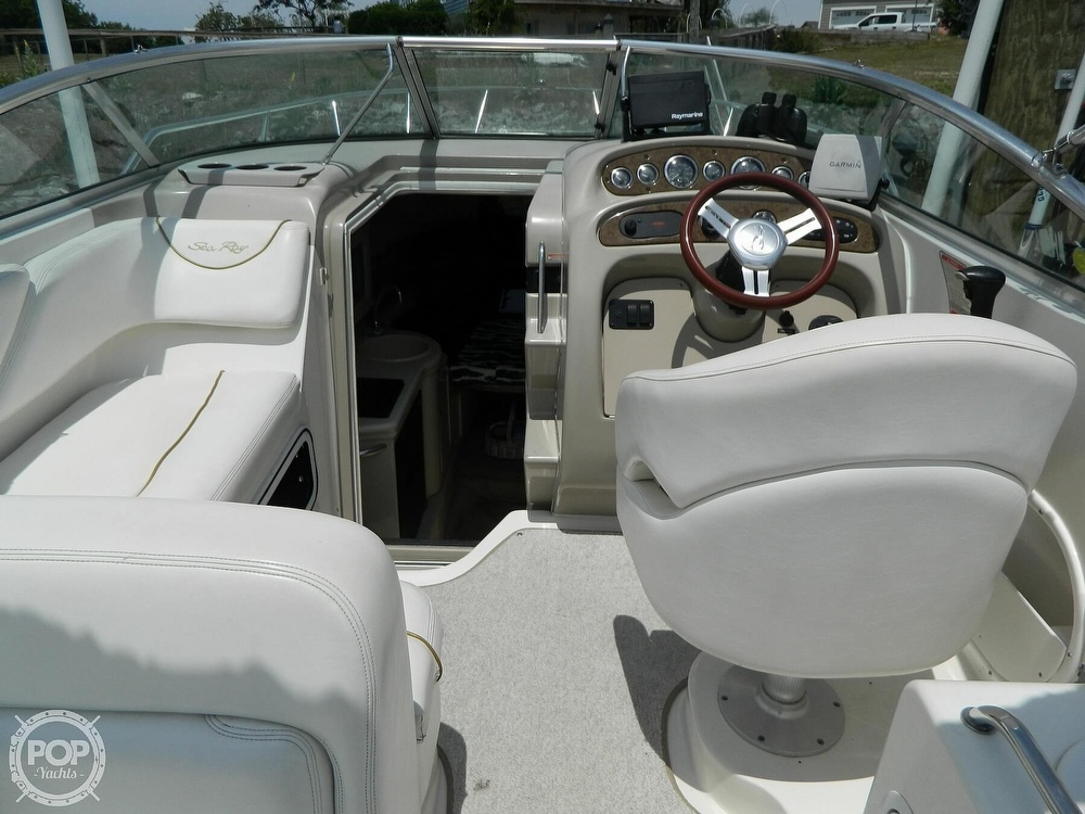 2001 Sea Ray boat for sale, model of the boat is 260 Sundancer & Image # 20 of 40