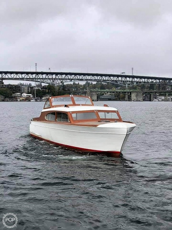 1952 Chris Craft boat for sale, model of the boat is El Capitan & Image # 20 of 40