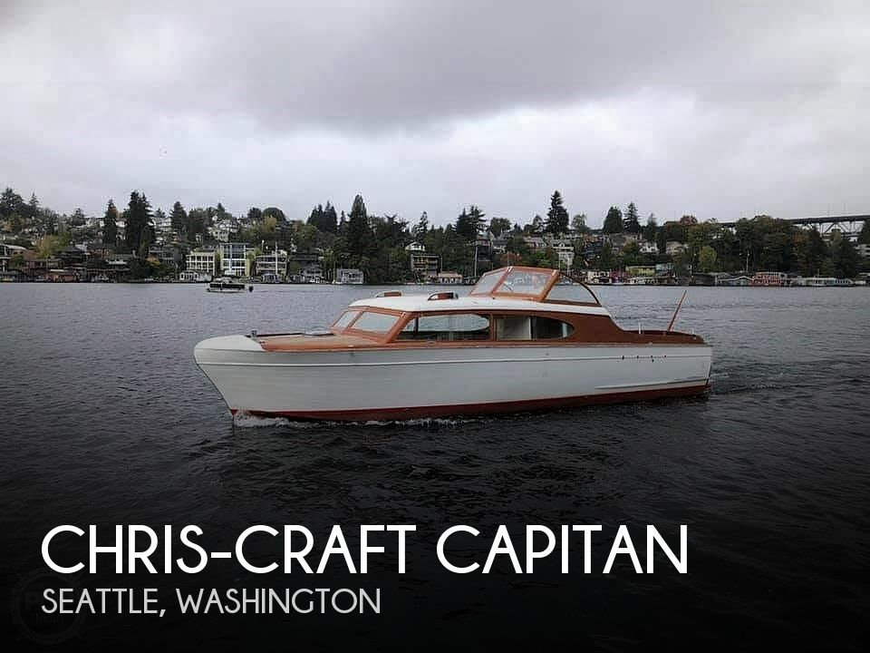 Used Chris Craft Boats For Sale in Washington by owner | 1952 33 foot Chris-Craft Capitan