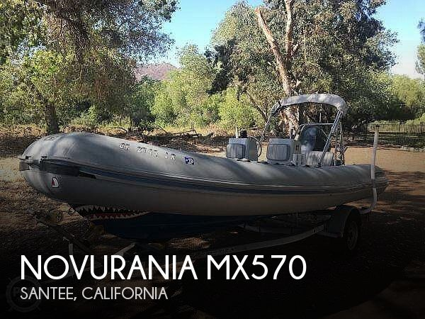 Used Novurania Boats For Sale by owner | 1988 Novurania MX570