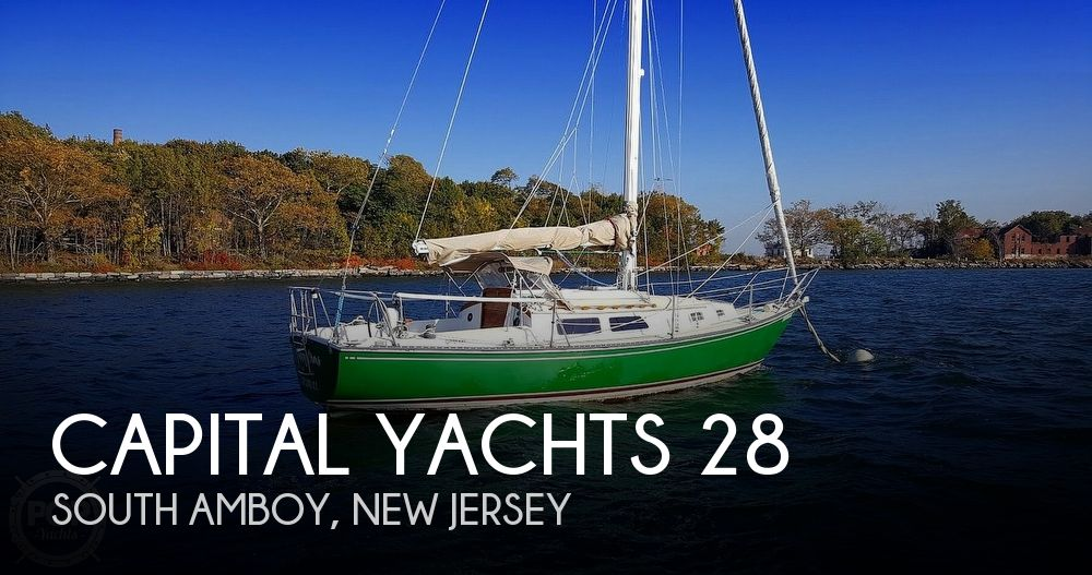 1987 Capital Yachts boat for sale, model of the boat is Newport 28 & Image # 1 of 40