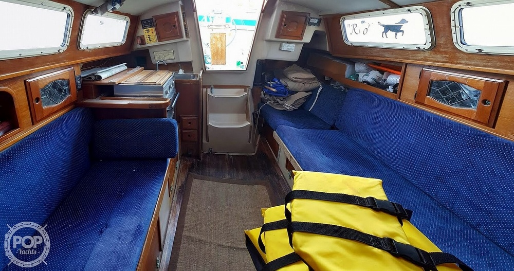 1987 Capital Yachts boat for sale, model of the boat is Newport 28 & Image # 38 of 40