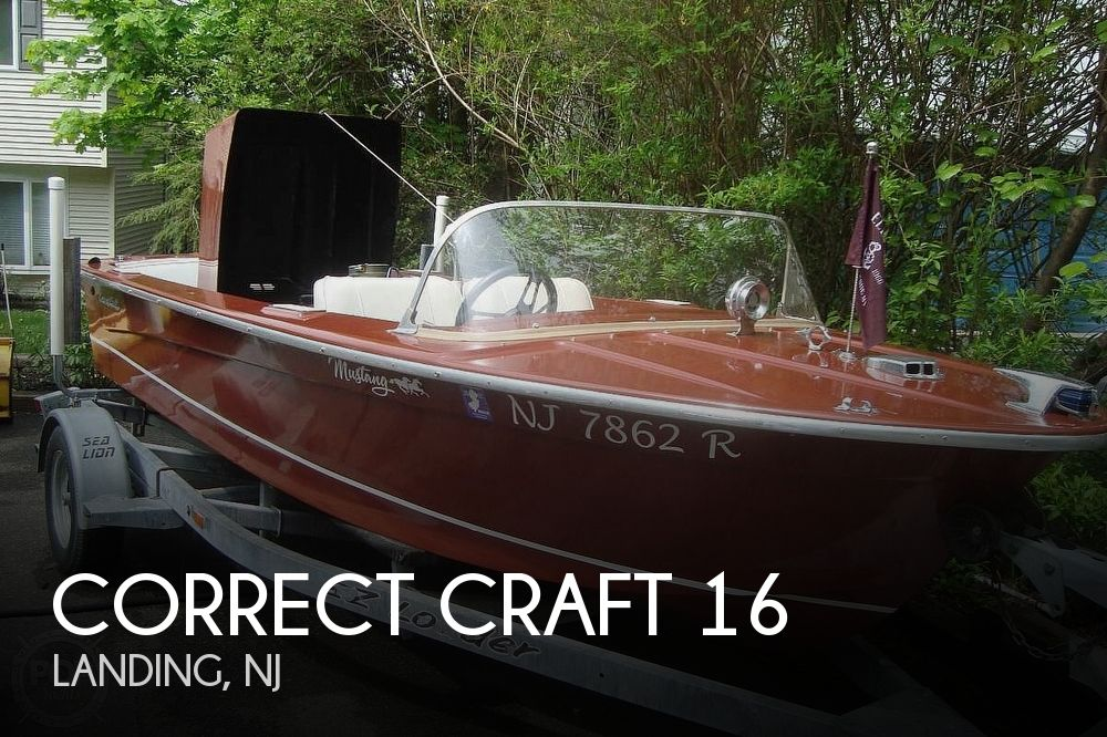 1966 CORRECT CRAFT MUSTANG 16 for sale