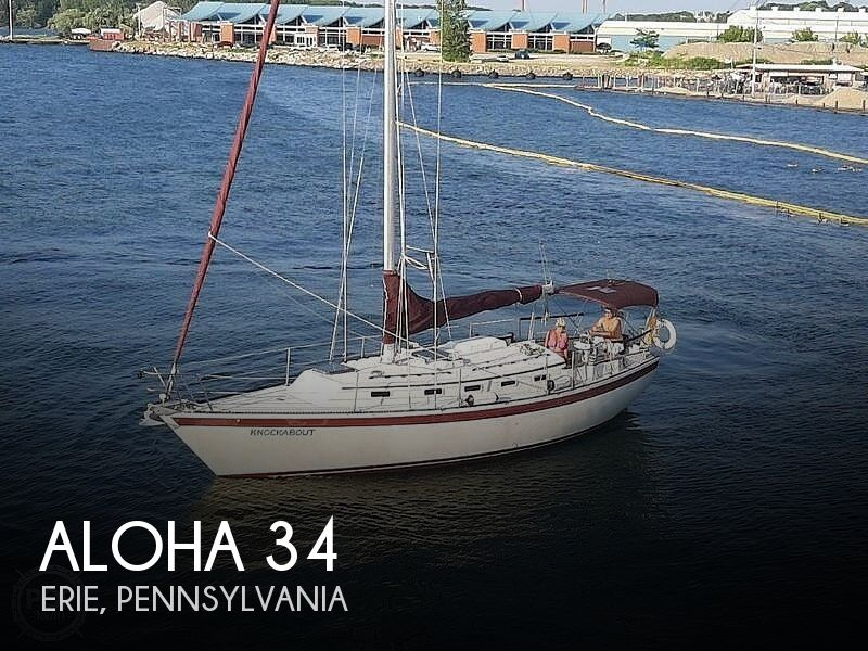 1984 Aloha Pontoons boat for sale, model of the boat is 34 & Image # 1 of 16