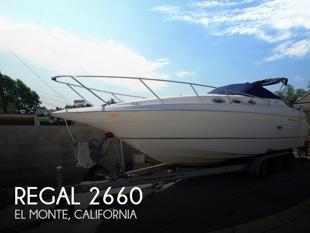 2000 REGAL COMMODORE 2660 for sale