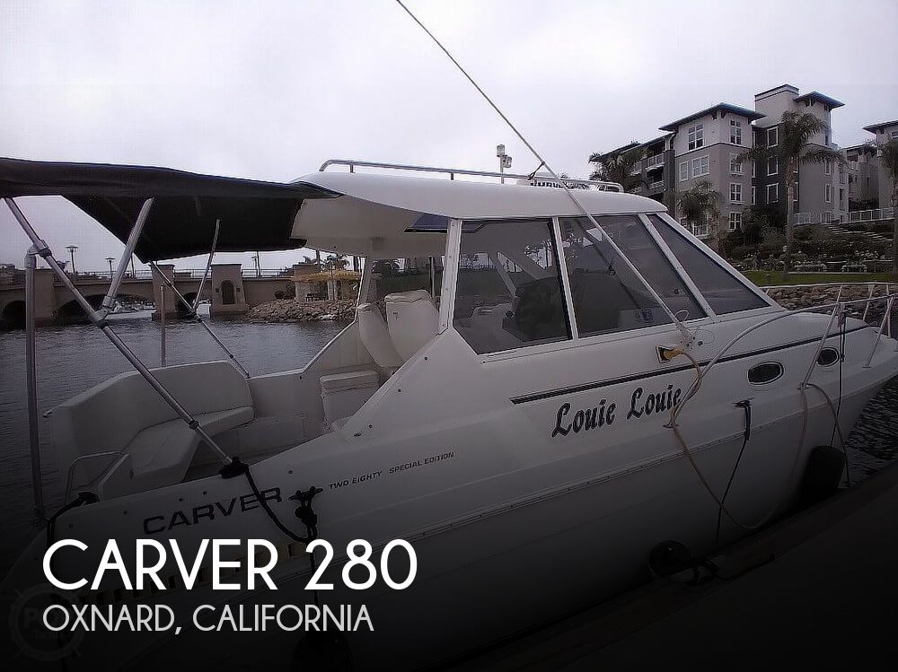 Used Carver Boats For Sale in California by owner | 1997 Carver 280