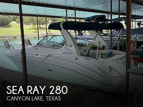 2008 Sea Ray boat for sale, model of the boat is 280 Sundancer & Image # 1 of 40