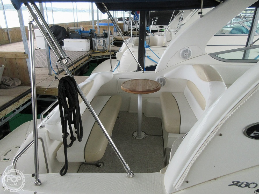 2008 Sea Ray boat for sale, model of the boat is 280 Sundancer & Image # 38 of 40