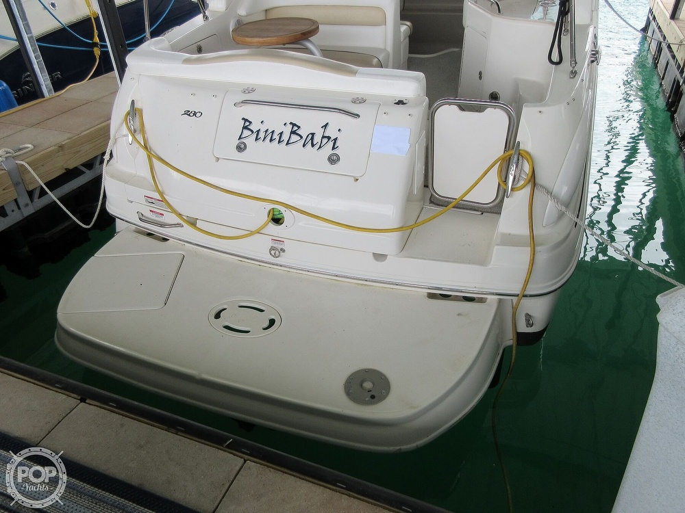 2008 Sea Ray boat for sale, model of the boat is 280 Sundancer & Image # 40 of 40