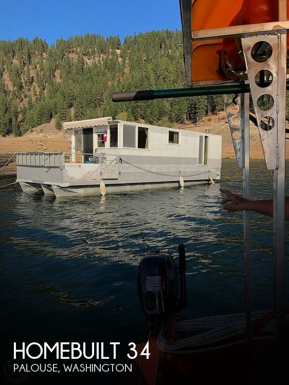 Used Houseboats For Sale in Washington by owner | 2001 Homebuilt 34