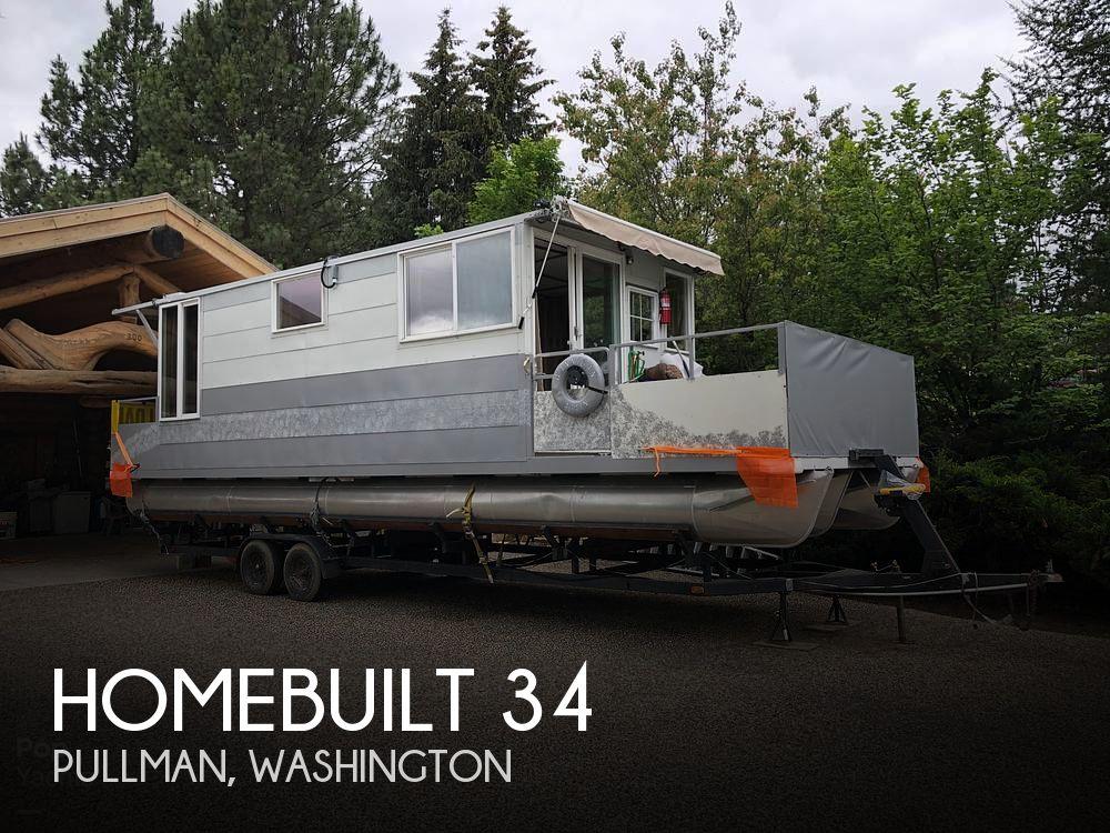 2001 Homebuilt boat for sale, model of the boat is 34 & Image # 1 of 18
