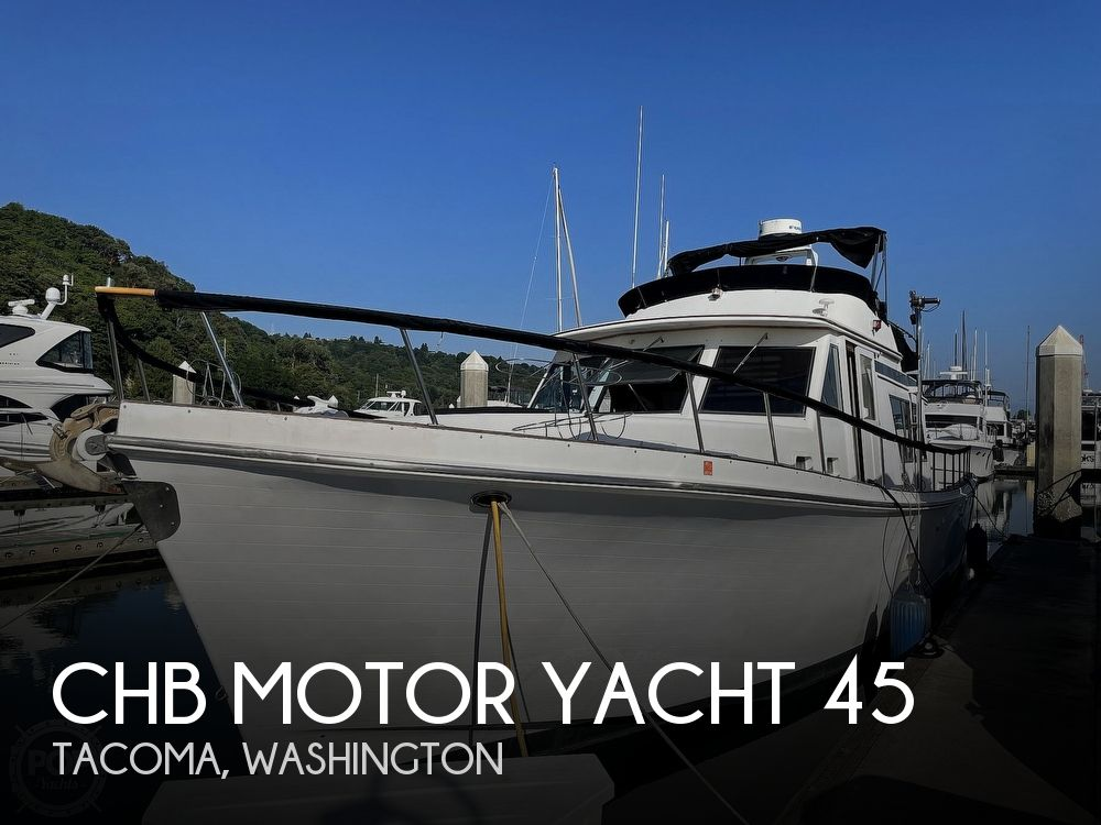 1984 CHB boat for sale, model of the boat is Motor Yacht 45 & Image # 1 of 40