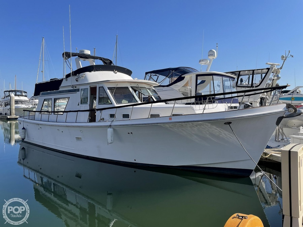 1984 CHB boat for sale, model of the boat is Motor Yacht 45 & Image # 2 of 40
