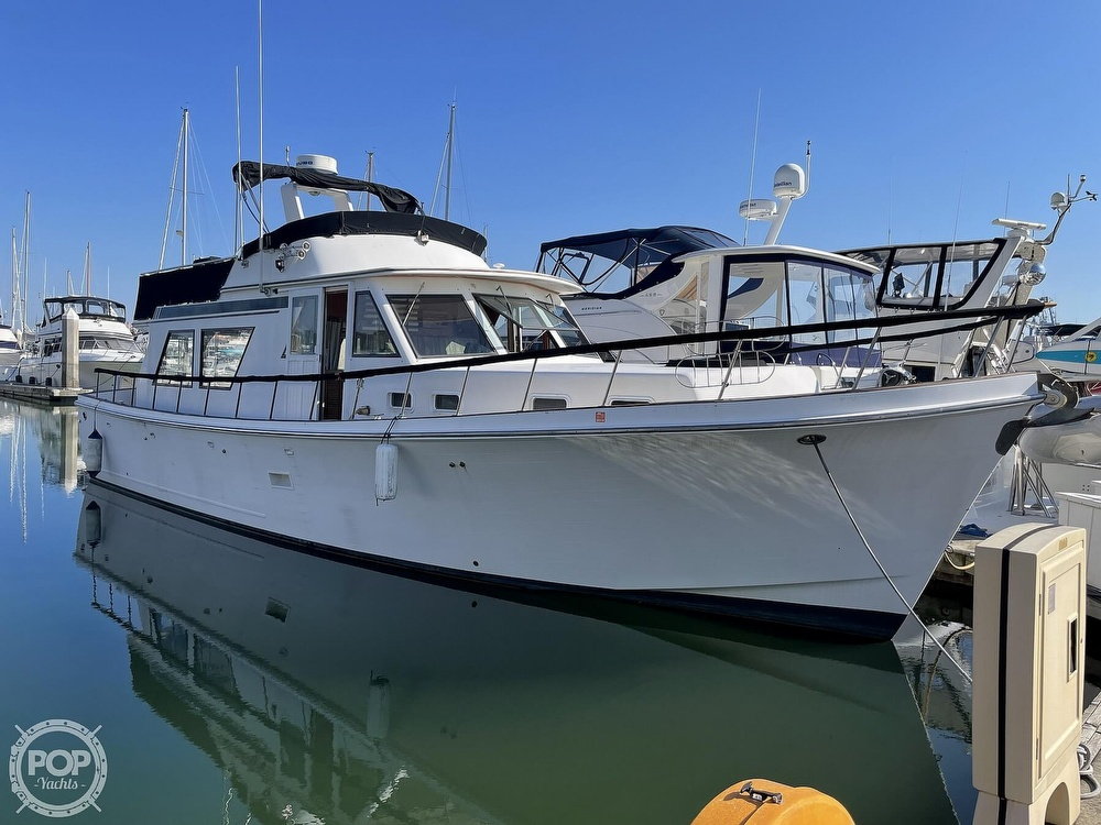 1984 CHB boat for sale, model of the boat is Motor Yacht 45 & Image # 3 of 40