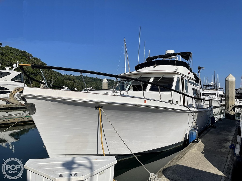 1984 CHB boat for sale, model of the boat is Motor Yacht 45 & Image # 4 of 40