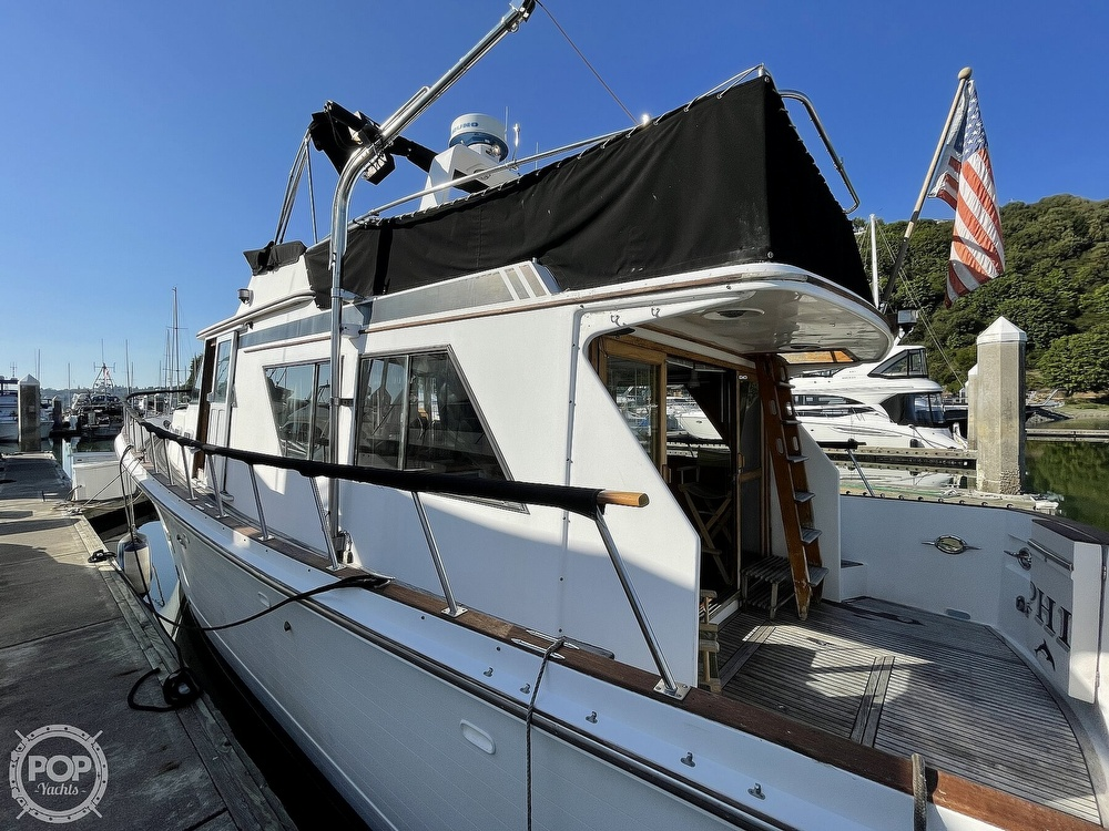 1984 CHB boat for sale, model of the boat is Motor Yacht 45 & Image # 7 of 40