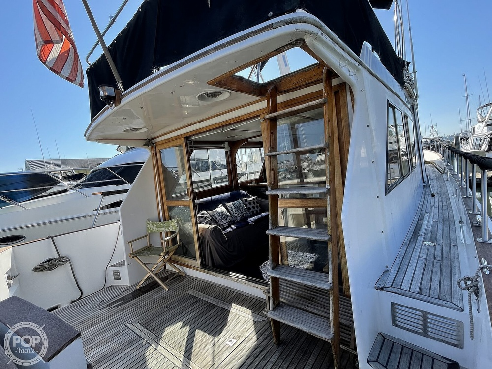 1984 CHB boat for sale, model of the boat is Motor Yacht 45 & Image # 10 of 40