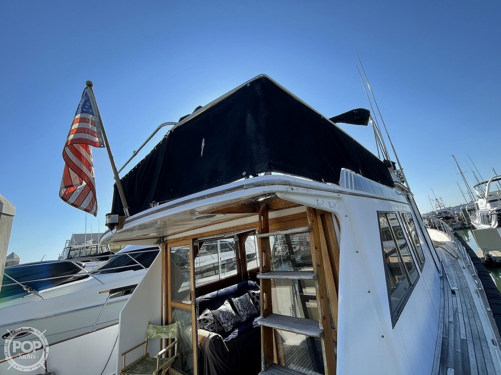 1984 CHB boat for sale, model of the boat is Motor Yacht 45 & Image # 17 of 40