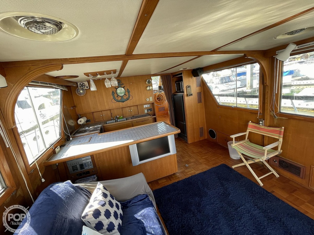 1984 CHB boat for sale, model of the boat is Motor Yacht 45 & Image # 26 of 40