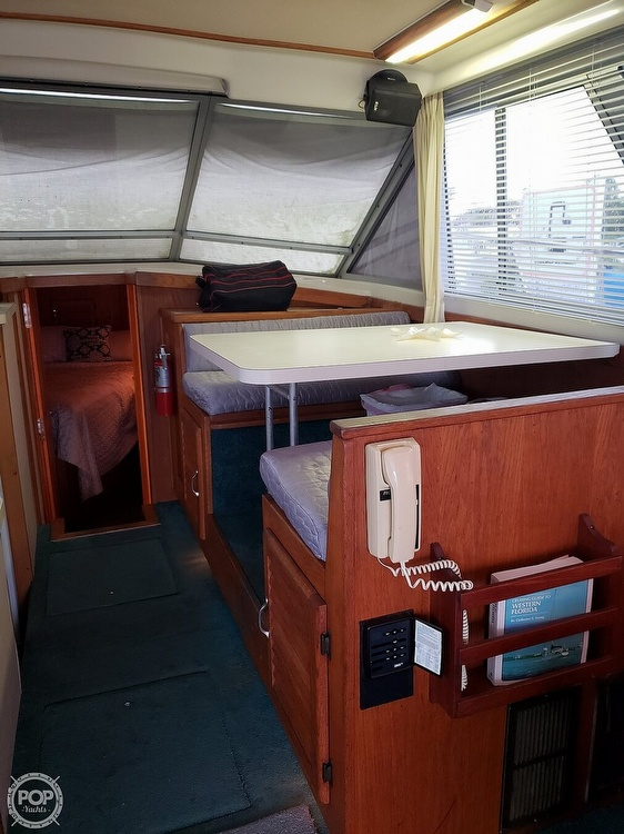 1989 Silverton boat for sale, model of the boat is 40C & Image # 7 of 10
